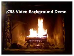 CSS Div with Background Video Tutorial