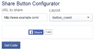 How to Add Multiple Facebook Share Buttons on Your Website - 1