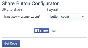 How to Create a Facebook Share Button with No Script - 1