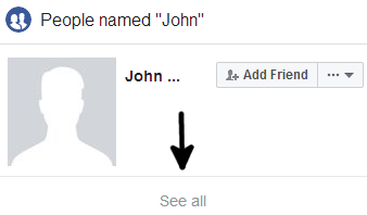 How to Find Someone on Facebook with First Name Only - 4