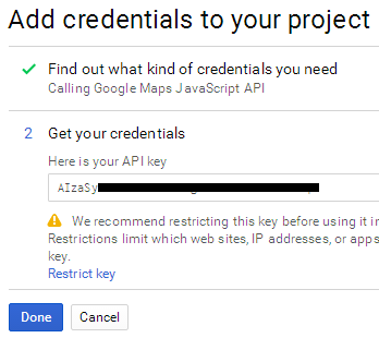 How to Create an API Key in Google Developers Console - 8