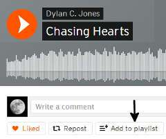 How to Create a Playlist on SoundCloud - 1