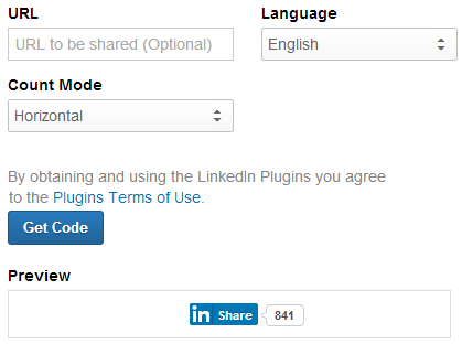 How to Add LinkedIn Share Button to Your Website - 1