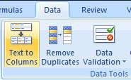 How to Use Multiple Character Delimiters in Excel - 1