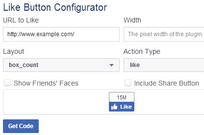 Dynamic Facebook Like Button Code with PHP - 1