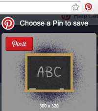 How to Add Pinterest Browser Button to Google Chrome - 3