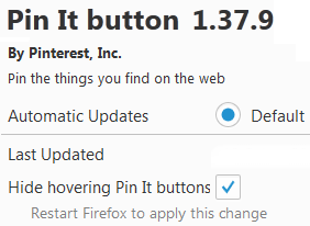 How to Add Pinterest Browser Button to Mozilla Firefox - 5